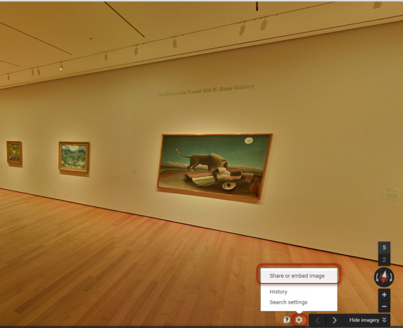 Enhance eLearning Assessment with multimedia google art settings iFrame