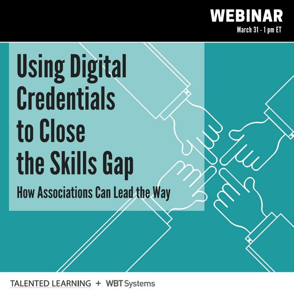 Using Digital Credentials to Close the Skills Gap: Webinar