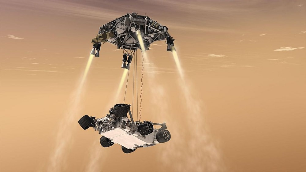 A culture of curiosity and collaboration built Curiosity's landing system
