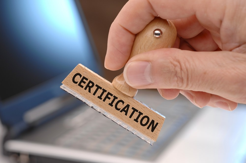 certification vs. certificate programs