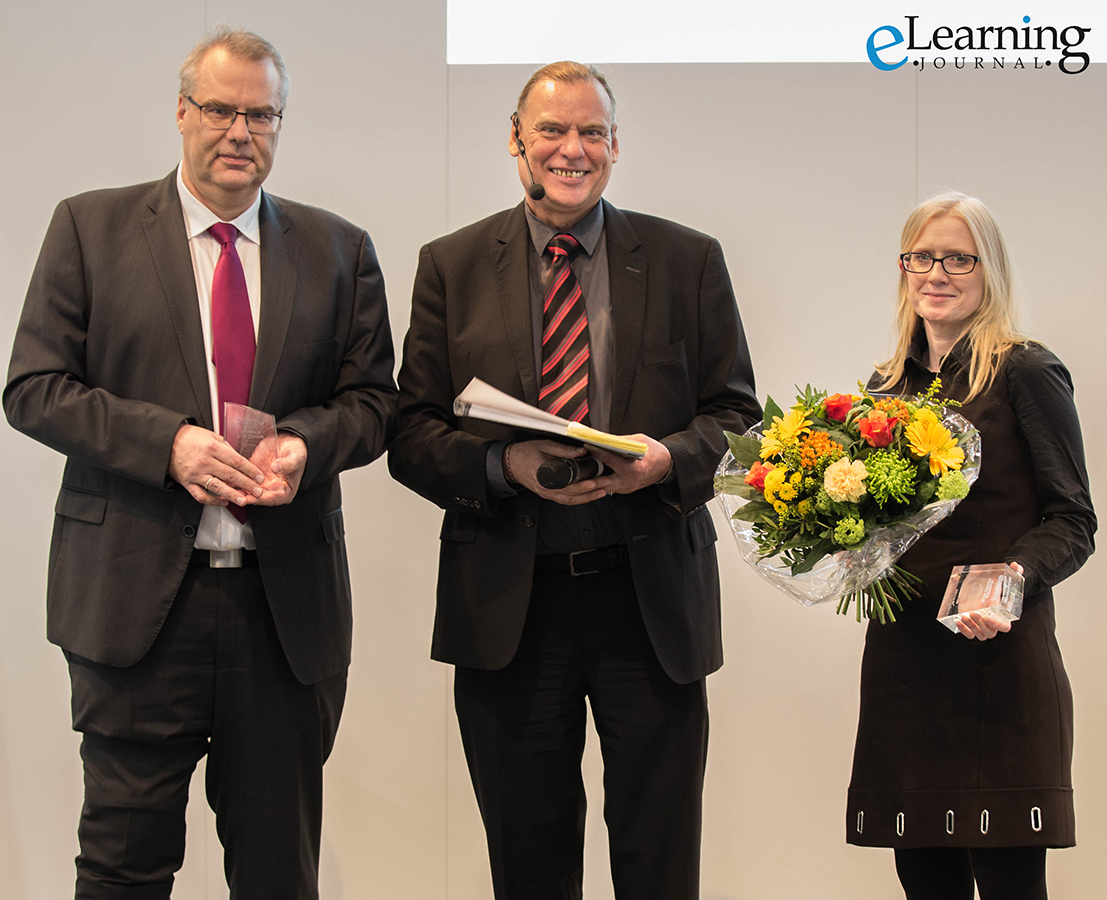 2018 eLearning Award for Best LMS presented to WBT Systems and Miele