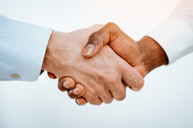 Partner handshake with WBT Systems