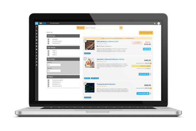 B2B education sales with TopClass LMS