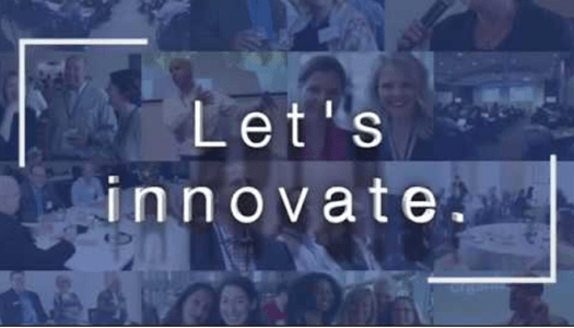 Let's Innovate message from .OrgCommunity