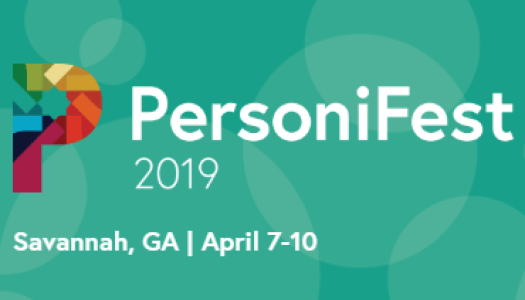 PersoniFest 2019 sponsored by WBT Systems