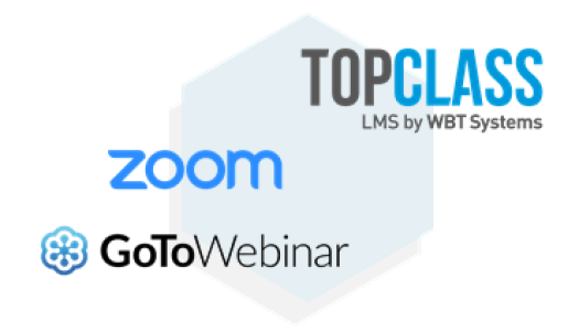 Virtual Learning, Events and webinars in TopClass LMS by WBT Systems