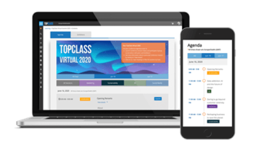 Virtual Conference in TopClass LMS by WBT Systems