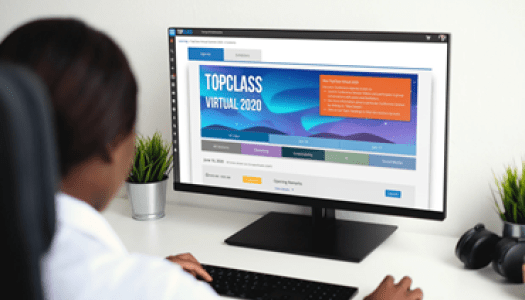 Virtual Conference management now available in TopClass LMS by WBT Systems