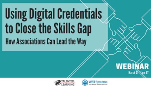Using Digital Credentials to Close the Skills Gap webinar recording